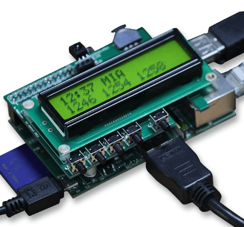 PiFace™ - Control and Display Plug and Play Board for Raspberry Pi®