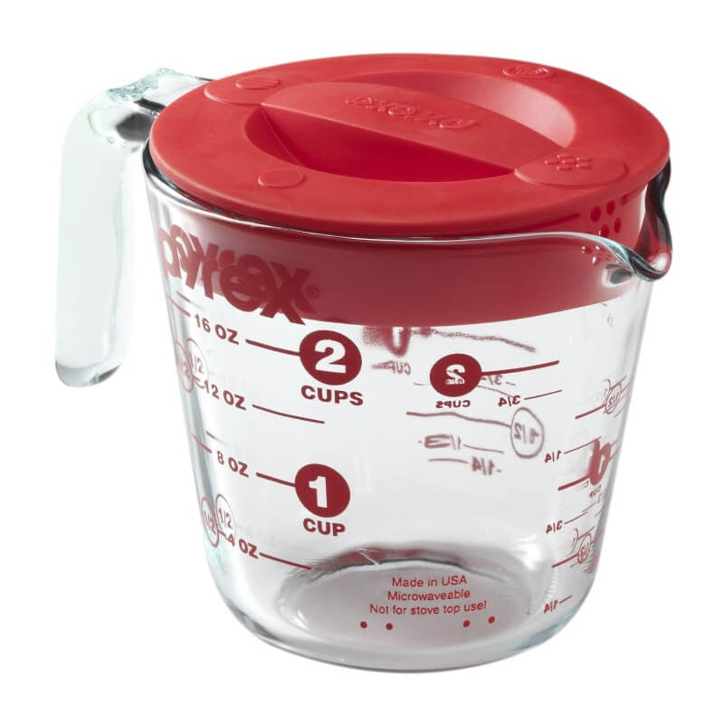 Pyrex® - Prepware 2-Cup Measuring Cup with Lid