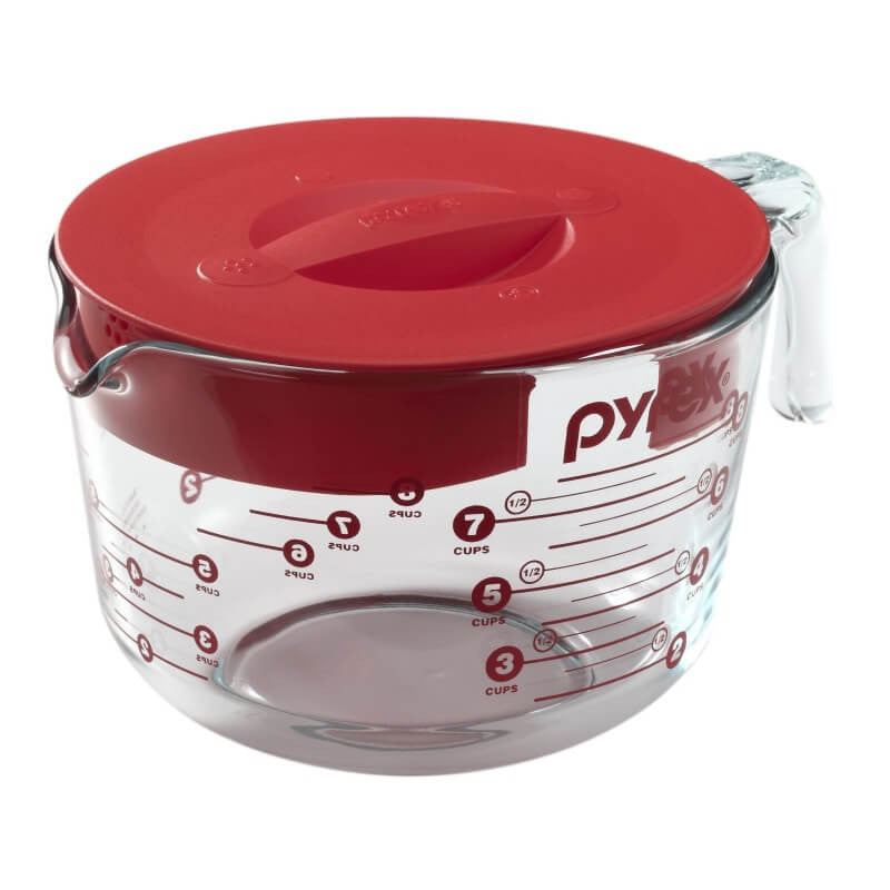 Pyrex® - Prepware 8-Cup Measuring Cup with Lid