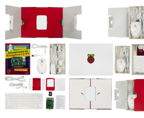 Raspberry Pi® - Raspberry Pi3 In a Box, Starter Kit-ZOOM_VIEW