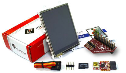"4D SYSTEMS - 2.8"" Raspberry Pi Display Module Starter Kit"