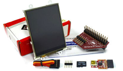 4D SYSTEMS - Display Module, Raspberry Pi - SK-32PTU-PI
