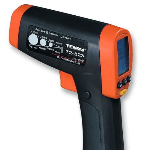 TENMA® - Digital Infrared Thermometer, -32°C to 650°C