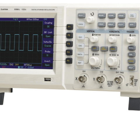 TENMA® - Digital Oscilloscope, 2-Channel, 50MHz, 1GSPS-ZOOM_VIEW