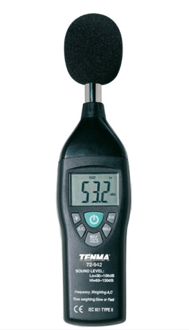 TENMA® - Digital Sound Level Meter, 30dB-130dB