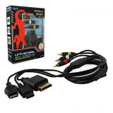 KMD - Universal AV Cable for Wii®, Xbox360®, PS2®, PS3®