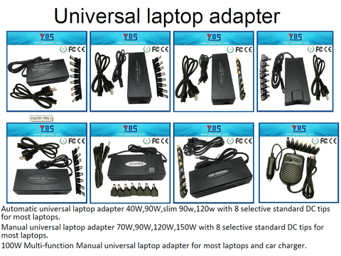 Universal Laptop Adapters - All Models