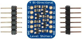 Bi-Directional Logic-Voltage Level Converter, 4CH