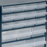 raaco® - Steel Storage Cabinet, 16 Drawers_ZOOM-VIEW