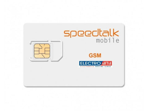 ElectroFlip® SpeedTalk Sim Card for GPS Trackers, 2G-4G GSM