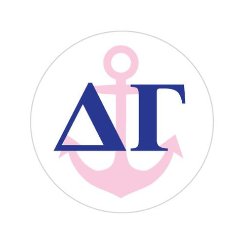 DELTA GAMMA WITH SYMBOL Decorative Bathroom Sink Stopper Toppers