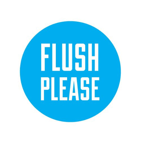 FLUSH PLEASE Decorative Bathroom Sink Stopper Toppers