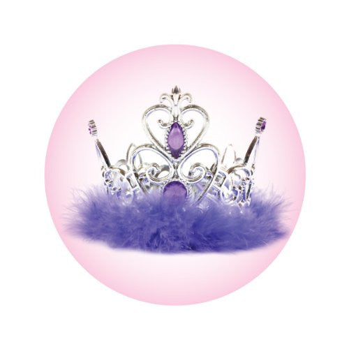 PURPLE TIARA Decorative Bathroom Sink Stopper Toppers