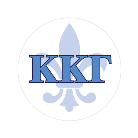 KAPPA KAPPA GAMMA WITH SYMBOL Decorative Bathroom Sink Stopper Toppers