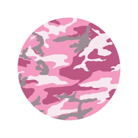 PINK CAMOUGLAGE Decorative Bathroom Sink Stopper Toppers