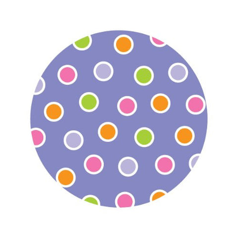 PASTEL POLKA-DOTS Decorative Bathroom Sink Stopper Toppers