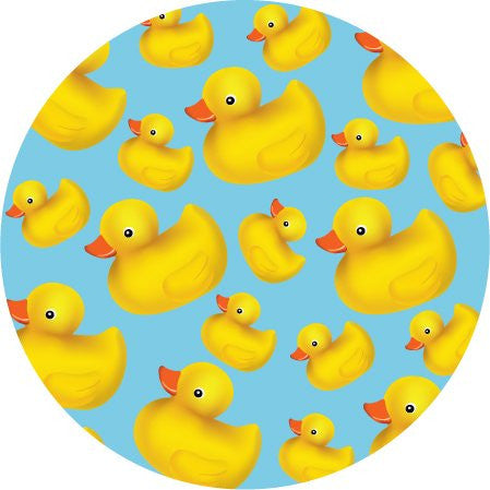 Rubber Duckies Tub Toppers