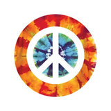 PEACE SIGN ON TIE DYE Decorative Bathroom Sink Stopper Toppers