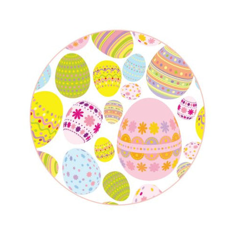 LARGE PASTEL EASTER EGGS Decorative Bathroom Sink Stopper Toppers