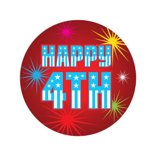 HAPPY 4TH OF JULY Decorative Bathroom Sink Stopper Toppers