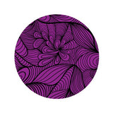 WAVE 5 - PURPLE Decorative Bathroom Sink Stopper Toppers