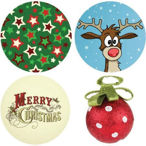 CHRISTMAS Collection Decorative Bathroom Sink Stopper Toppers