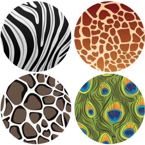 ANIMAL PRINT Collection Decorative Bathroom Sink Stopper Toppers
