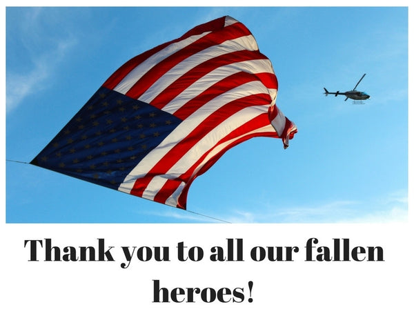 A BIG Thanks for our fallen heroes.  THANK YOU!