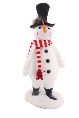 "Frosty Snowman Standing 21.5"" Tall Christmas Figure"