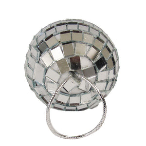 "Kurt Adler Mirror Disco Ball 2"" Christmas Retro Ornaments 12 Piece Set"