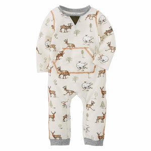 Mud Pie Kids Camo Christmas Reindeer Bear Print Waffle Weave Knit 1 Pc Set