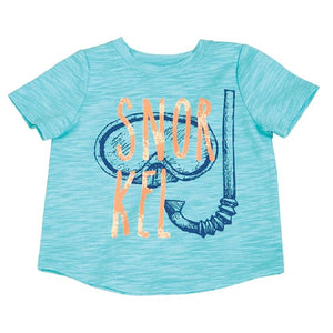 "Mud Pie Marco Polo Collection ""Snorkel"" Graphic T-Shirt"