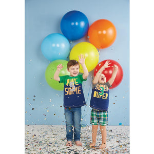 Mud Pie Kids Boys 2nd Birthday 2 Yay Party T-Shirt