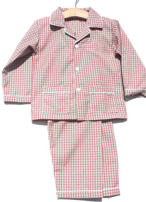 Sweet Dreams Boys Unisex Baby Christmas Lightweight Pajamas Plaid