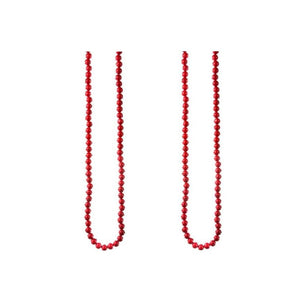"Regency 72"" Long Icy Red Winter Berry Christmas Tree Garland Set of 2"