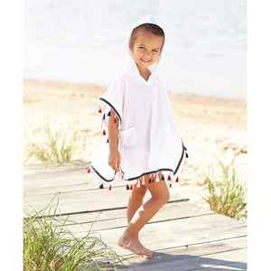 Mud Pie Sail Away Collection Tassel Swimsuit Pool Cover-Up