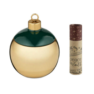 Illume Ball Ornament Shaped Christmas Scented Candle 4.6 oz