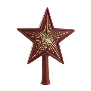 "Marolin 8"" German Paper Mache Christmas Tree Topper ""Big Star"""