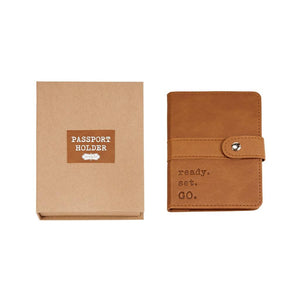 Mud Pie Home Passport Holder