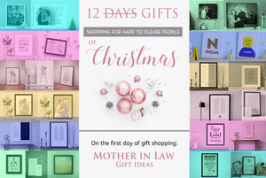 Twelve Gifts of Christmas - Shopping for Hard to Please People: Mother in Law Gift Ideas
