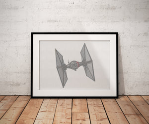 Custom Decor from a Galaxy Far Far Away