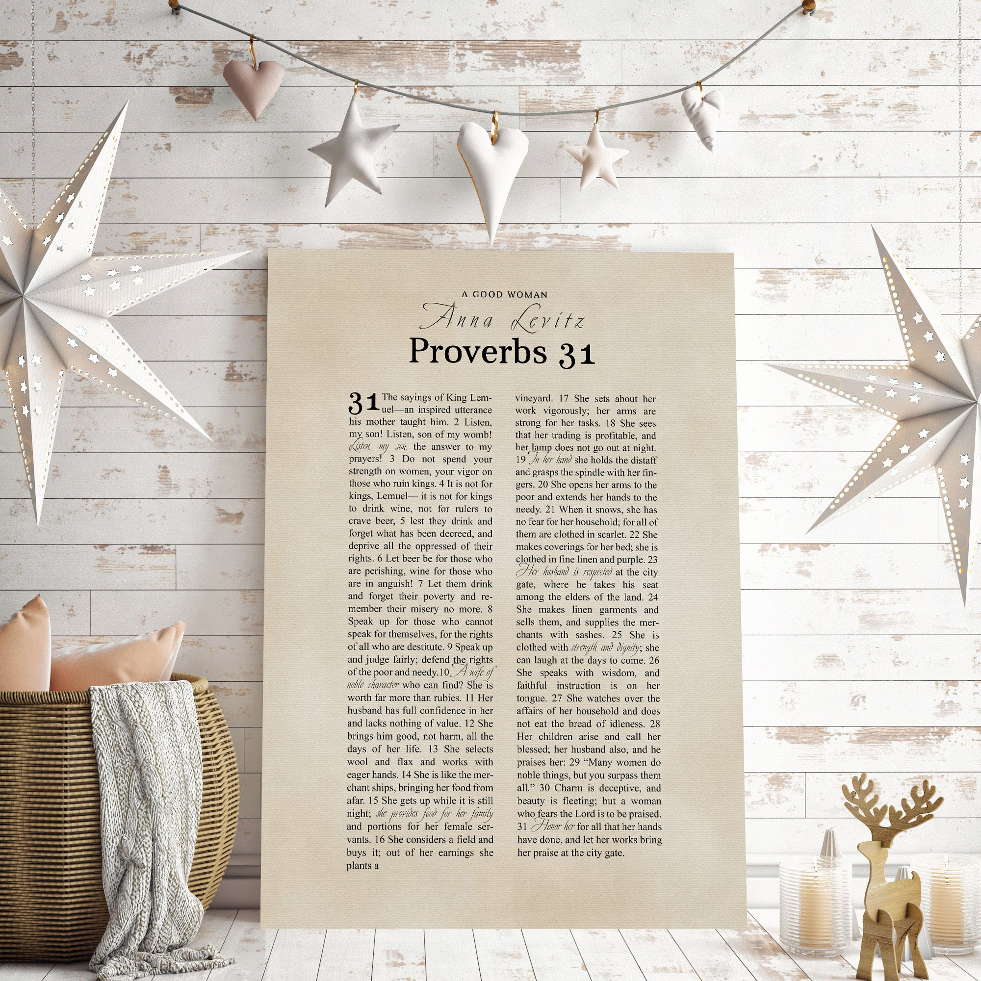 Proverbs 31 Christmas Gift ideas for her