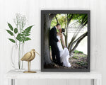 Wedding Photo with Words - Fine art and canvas personalized anniversary and inspirational gifts