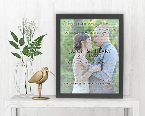 First Dance Photo and Lyrics - Fine art and canvas personalized anniversary and inspirational gifts
