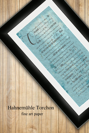 Framed, Footprints in the Sand, Christian Wall art, gift, Print, fine art, bible verse print, beachhouse, decor, pastor, teacher, mom, gift