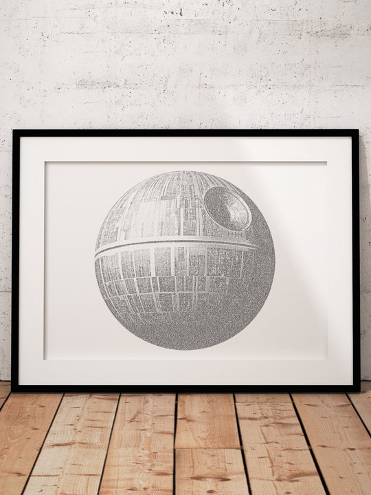 Death Star Word Art