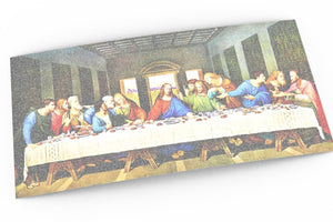 Bible Verse Art, Scripture Wall Art, The Last Supper, Word art, Gift for pastor, The Books of the Gospel, Religious decor, Christian art