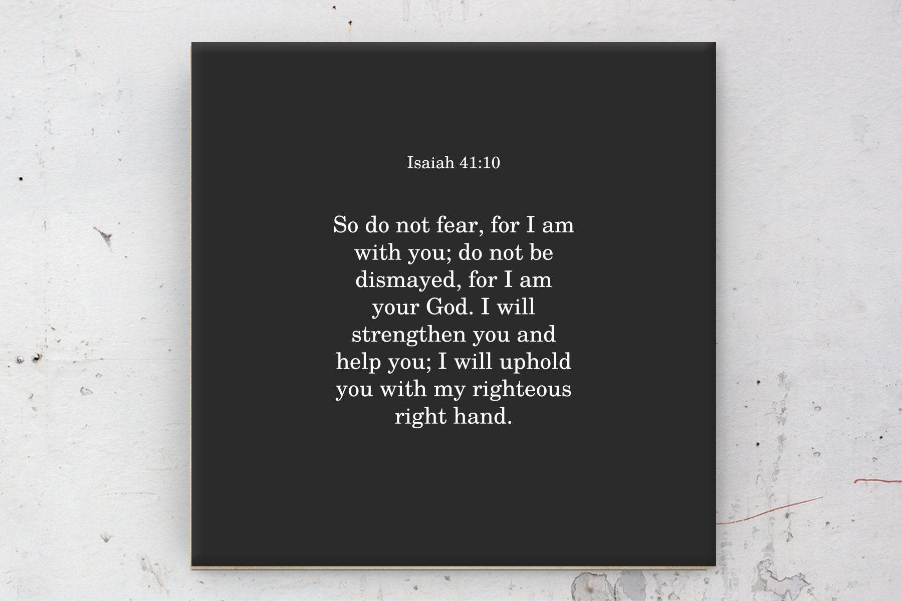 Isaiah 41;10, Canvas, Framed, Bible verse, Scripture, print, Scriptures on canvas, Framed scripture, gift, gifts, Christmas, brother, sister