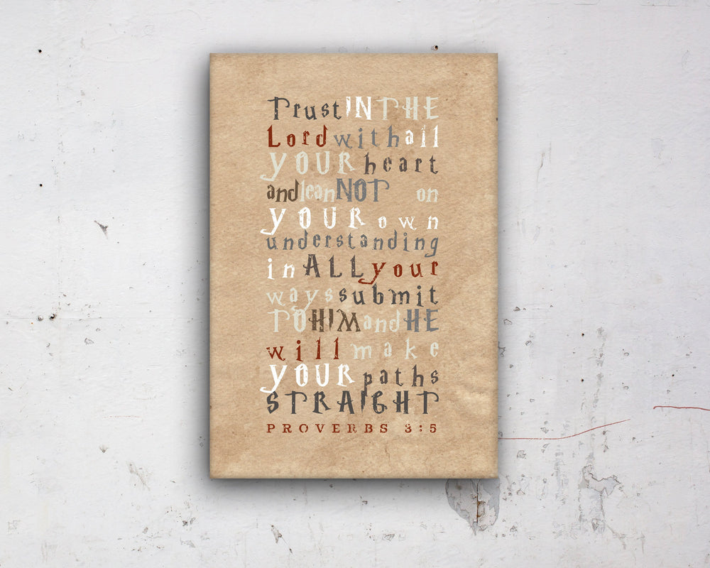 Proverbs 3:5, Harry, customize, Scripture, kids, for, wall, art, gift, her,Bible verse, prints, Scriptures, canvas, Framed, gifts, Christmas