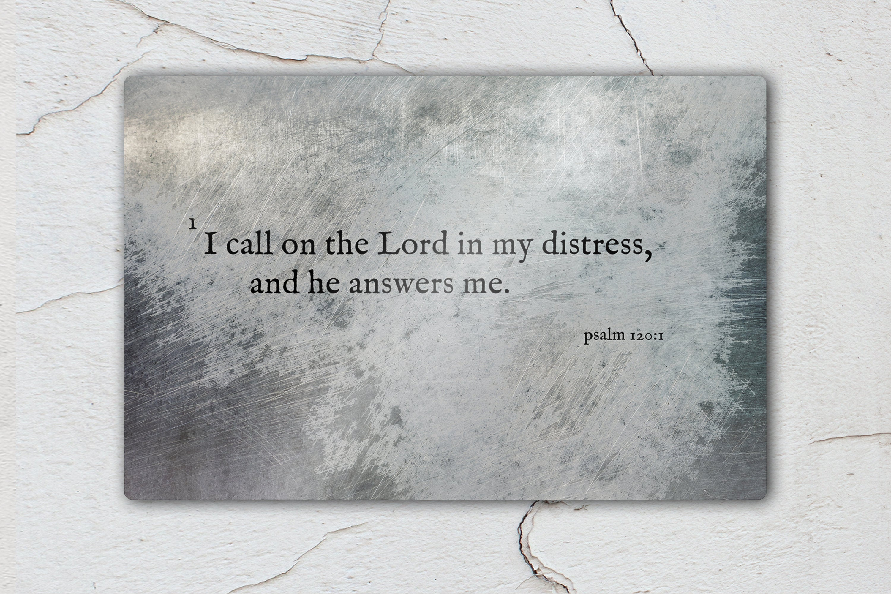 Psalm 120:1, Inspirational Scripture Art, I Call to the Lord, Christan, Bible Verse Print, Scripture, Wall Decor, Gift for guys, Encouraging
